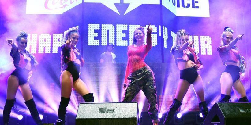 Coca-Cola The Voice Happy Energy Tour бе в Русе