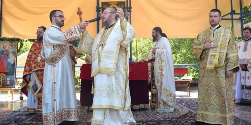 Новата икона на Света Марина Каранвърбовска освети Русенският митрополит Наум