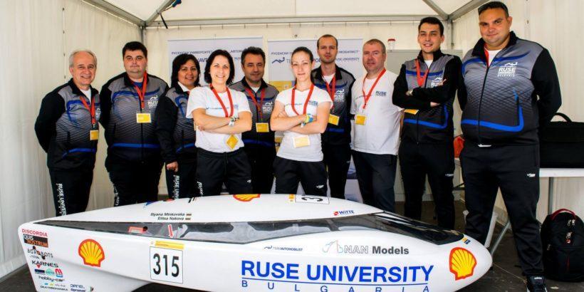 Най--силното си представяне направи Русенският университет от началото на участието си в състезанието за енергийно ефективни автомобили