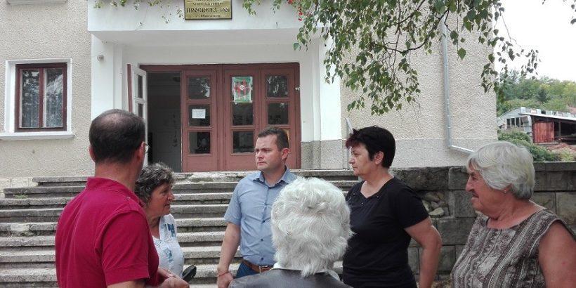 Пенчо Милков се срещна с жителите на село Писанец