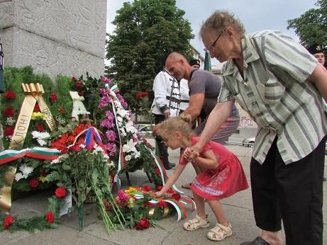 В Русе бе почетена паметта на Стефан Караджа