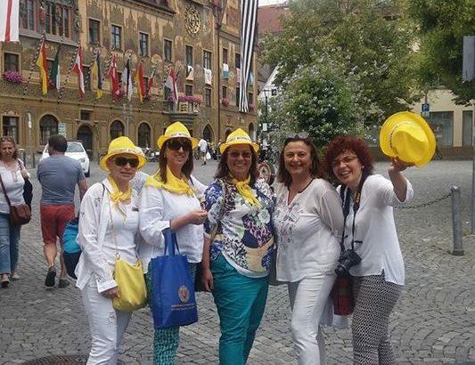 Четири дами от клуб Сороптимист Интернешънъл Русе взеха участие в 11-тото издание на Дунавския фестивал в Улм