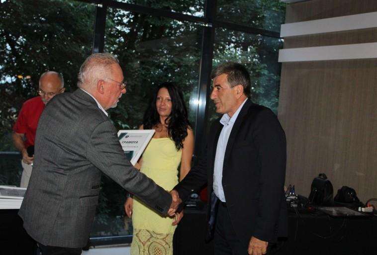 Връчиха първите годишни награди на Русенската стопанска камара