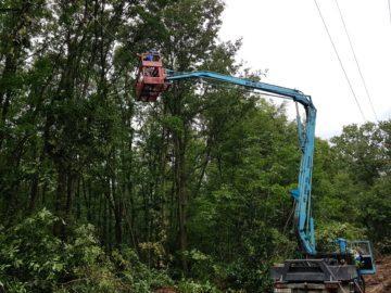 ЕРП Север повишава сигурността на електрозахранването в област Русе