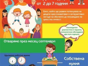 В началото на месец септември отваря врати най-новата частна детска градина в Русе