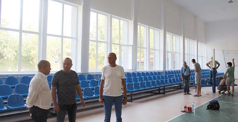 волейболна зала ханджиев сапа ремонт