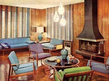 мебели 60те години
