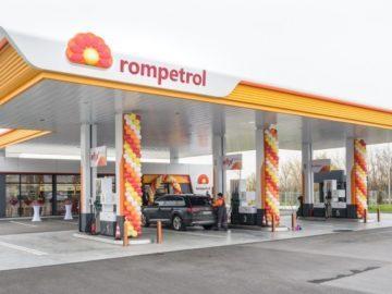 ромпетрол бензиностанция