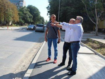 Кметът на Община Русе провери ремонтните дейности в града