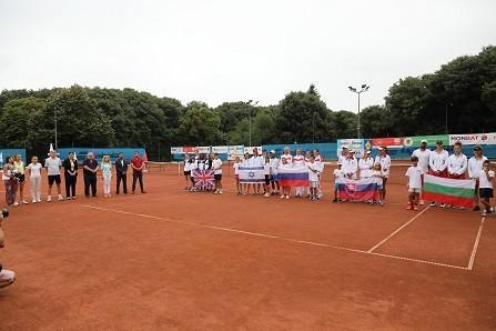 В Русе бе открито европейското отборно първенство по тенис за девойки
