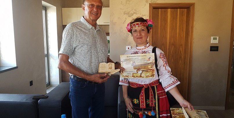 Народният представител Пламен Нунев бе гост на празника на художествената самодейност в Сливо поле