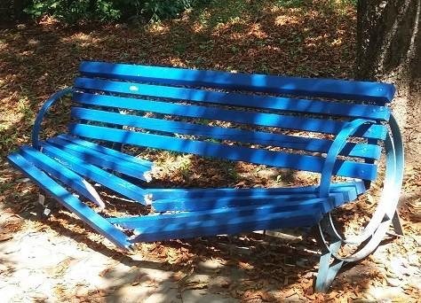 Поредна вандалска проява е установена в Парка на младежта