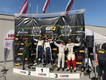 Четвъртият кръг на Европейските GT4 серии приключи с трето и пето място за Sofia Car Motorsport с българския тандем Иван Влъчков и Константин Маршавелов