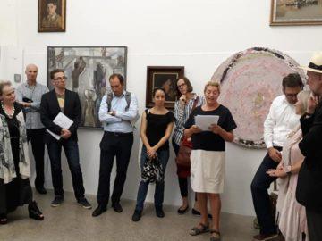 """Във Виена бе открита изложба и представен сборник """"Разкази, вдъхновени от картини"""", проект на Художествена галерия - Русе"""
