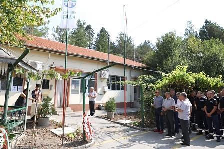 Народният представител Пламен Нунев почете паметта на загинал при изпълнение на служебния си дълг беленски пожарникар