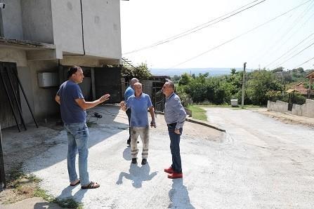 Народният представител Пламен Нунев посети Полско Косово