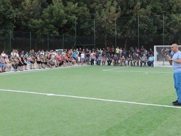 Народният представител Пламен Нунев откри нова многофункционална спортна площадка в Копривец