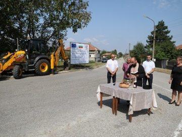Народният представител Пламен Нунев и кметът на Община Борово