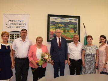 Генералният консул на Руската федерация в Русе посети Русенския университет