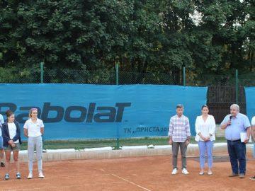 Днес се проведе официалното откриване на държавно отборно първенство по тенис на корт