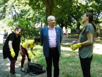 Паркът до бившата за захар в Гюргево ще бъде обновен