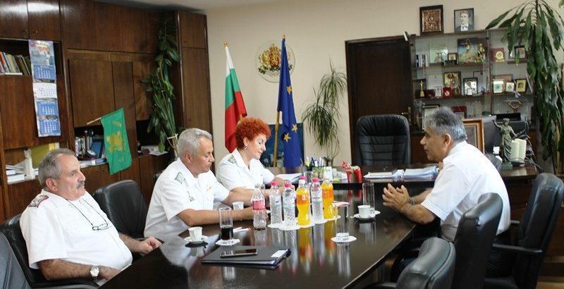 Зам. - областният управител се срещна с представители на ВМС