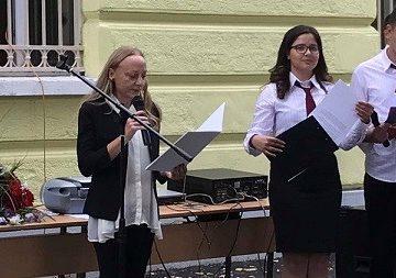 """Новата учебна година бе открита в АГ """"Гео Милев"""" - Русе"""