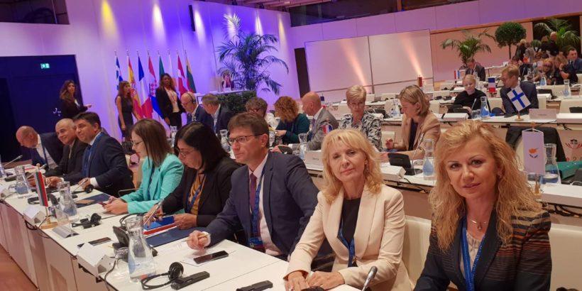 Народният представител Светлана Ангелова участва в интерпарламентарната конференция за стабилност, икономическа координация и управление в ЕС