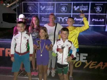 С медали и купи се завърнаха децата на Спортен клуб Триатлон Далян от Мамая