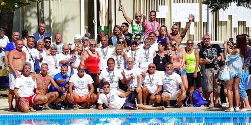 Тимът на КПС Ирис - Русе стана комплексен отборен победител на държавното първенство по плуване за ветерани