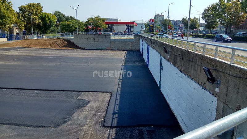паркинг асфалтиране монбат арена