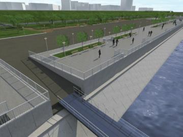 Започна обновяването на русенския кей и изграждането на корабни места