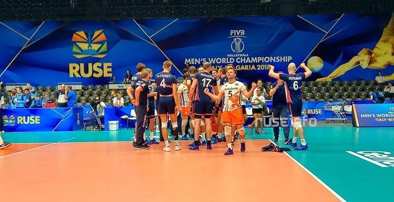 холандия бразилия русе 2018 волейбол