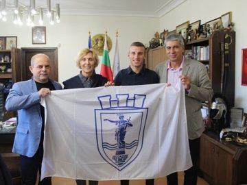 Кметът на Община Русе се срещна с европейския шампион Християн Стоянов