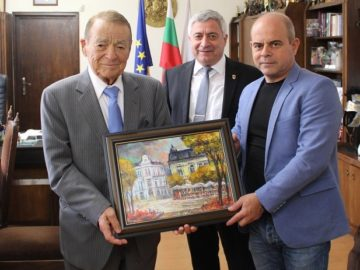 Игнат Канев се срещна с кмета на Община Русе Пламен Стоилов
