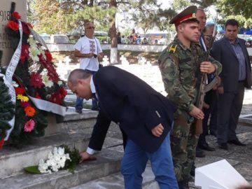 Народният представител Искрен Веселинов участва в честванията