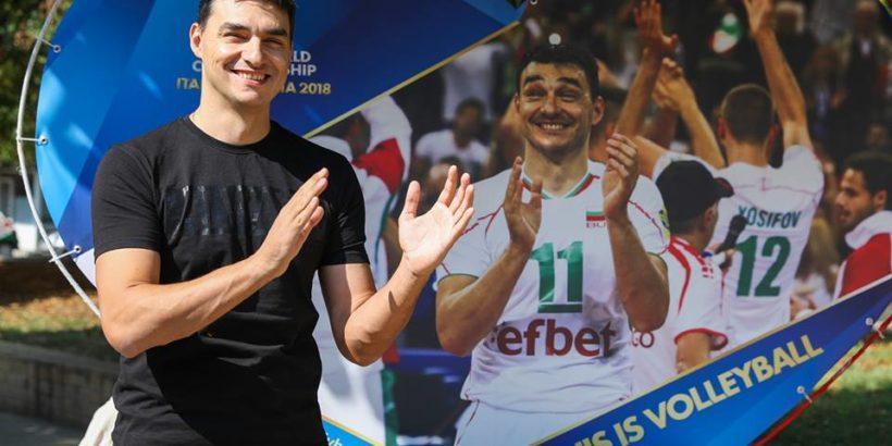 Волейболната легенда Владо Николов в Русе