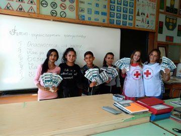 Доброволци на БМЧК от ПГСС в Европейски ден без ПТП