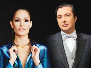 Васил Петров и Весела Бонева в концерт с Биг Бенд Русе на 24 октомври
