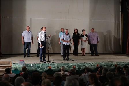 Народният представител Пламен Нунев в Борово