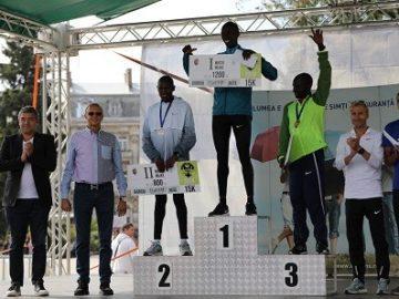 "Кениец и румънка спечелиха златните медали в третия ""Пробег на свободния дух Русе - Гюргево"" днес"