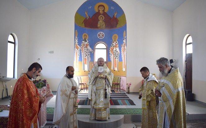 Русенският митрополит Наум посети Цар Самуил на Кръстовден