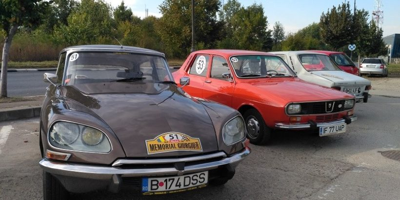 Ретропарад на автомобили се проведе в Гюргево ретро коли автомобили