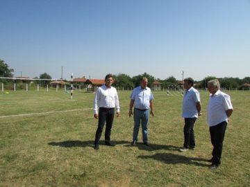 В село Екзарх Йосиф е изграден нов екокът и спортни терени по проект с финансиране от ПУДООС