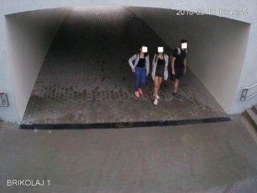 Камерите отново показаха как младежи драскат в подлеза на Кръговото