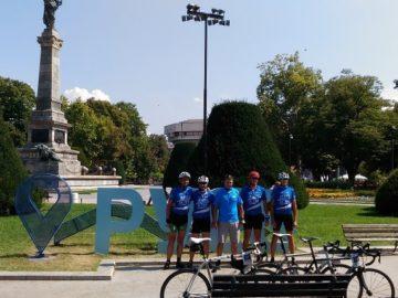 "Ежегодният велопоход ""Дунав Ултра"" премина през Русе днес"