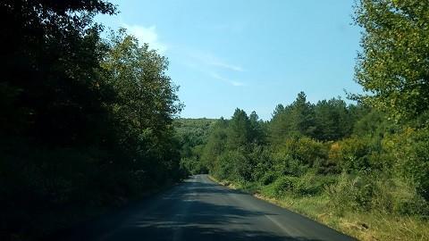 Пътят Ново село - Долно Абланово е частично рехабилитиран