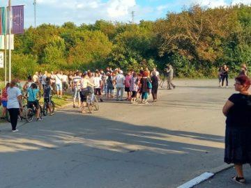 Жители на град Мартен блокираха