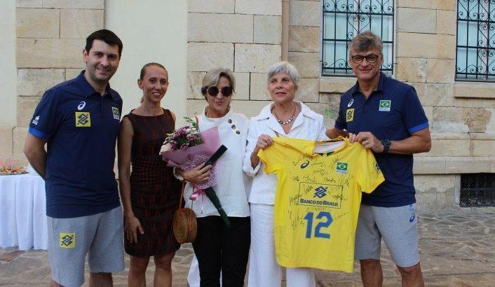 Посланикът на Бразилия у нас е на посещение в Русе