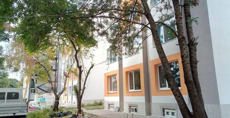 Приключва частичното саниране на СО-4 в Студентски град